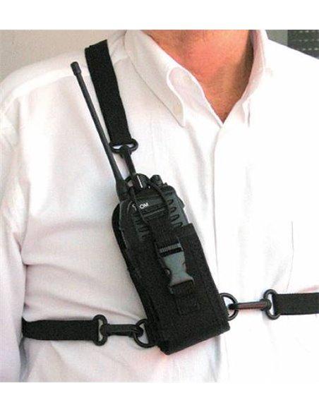 Nylon Case Small - Custodia universale in nylon con spallacci