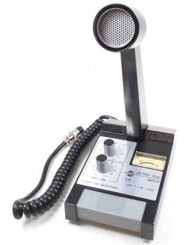 MB+5 Zetagi - Mircrofono da tavolo preampl. con volume