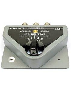 Alpha Delta DELTA-2B/N Commutatore Coassiale a 2 vie connettori N (1500 Watt CW)