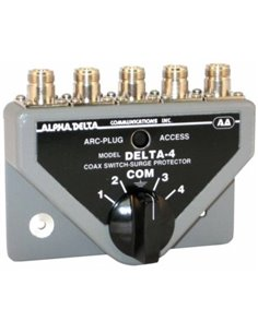 Alpha Delta DELTA-4B/N Commutatore Coassiale a 4 vie (1500 Watt CW)