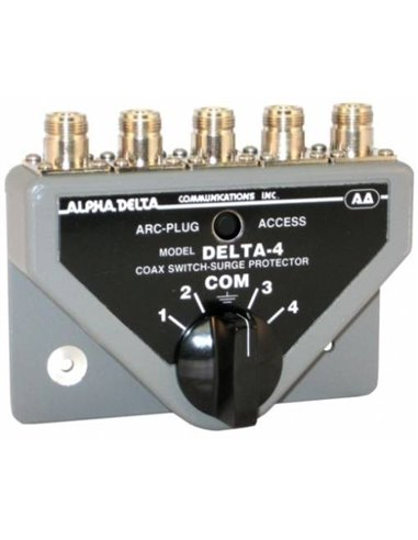 Alpha Delta DELTA-4B/N Commutatore Coassiale a 4 vie (1500 Watt CW)