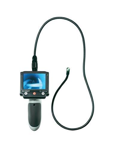 BS-200XW Voltcraft - Endoscopio portatile con display rimovibile e valigia da trasporto