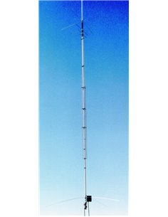 hy-gain AV-640 - Antenna verticale 8 bande 40/30/20/17/15/12/10/6 metri
