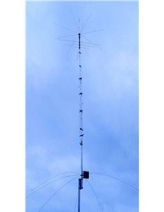 hy-gain AV-680 - Antenna verticale 9 bande 80/40/30/20/17/15/12/10/6 metri
