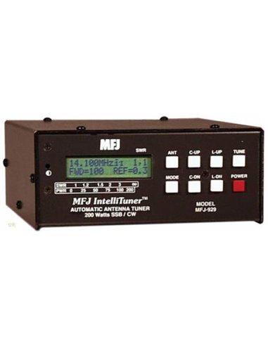 MFJ-929  ACCORDATORE D'ANTENNA AUTOMATICO - ROS/WATTMETRO DIGITALE DISPLAY LCD, 1.8-30MHZ