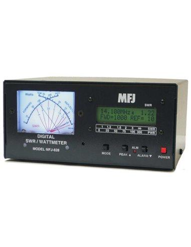 MFJ-828 ROSMETRO  WATTMETRO  FREQUENZIMETRO DIGITALE 1500 WATT