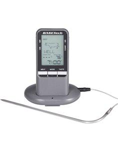 BK-BBQ Basetech - Termometro wireless a penetrazione per barbecue