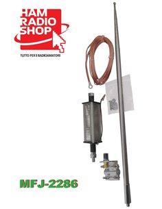 MFJ-2286 Antenna verticale portatile 7-55 MHz 1KW alta  metri 5,50