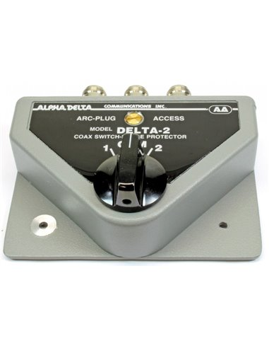Alpha Delta DELTA-2B-PL Commutatore Coassiale a 2 vie 1500 Watt CW