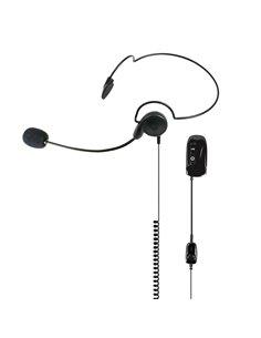 WA29 Midland - Microfono auricolare Bluetooth con archetto nucale e PTT per WA Dongle