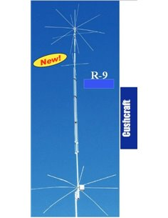Cushcraft R9 Antenna verticale per le bande dei 6,10,12,15,17,20,30,40,80 Metri