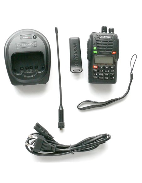 Wouxun KG-UV6D DUAL BAND DUAL BAND VHF 66-88/ e VHF 136-174 MHz versione export