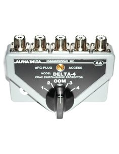 Alpha Delta DELTA-4B Commutatore Coassiale a 4 vie (1500 Watt CW)