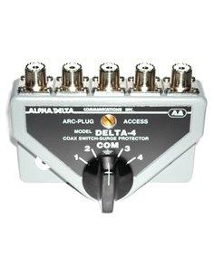 Alpha Delta DELTA-4B Commutatore Coassiale a 4 vie (1500 Watt CW)