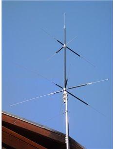 HVU-8 Antenna Verticale 3.5/7/14/21/28/50/144/430 MHZ