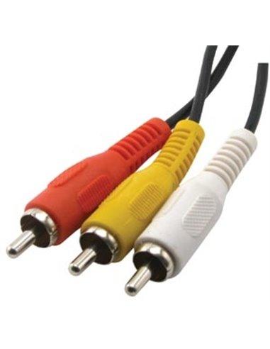 Cavo Audio spine 3 RCA M/M Cavo Audio spine 3 RCA M/M - 3 mt