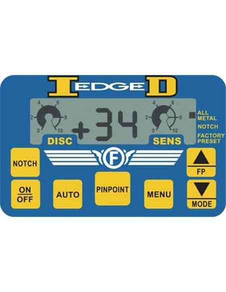 Fisher lab ID EDGE W/10,5''/LCD