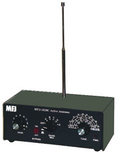 MFJ-1020C ANTENNA, SWL INDOOR ACTIVE ANTENNA