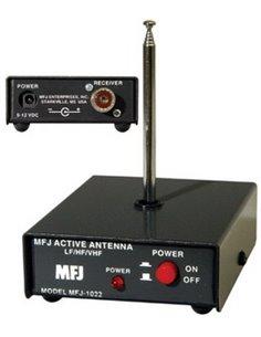 MFJ-1022 ANTENNA, 3-200 MHZ ACTIVE ANTENNA