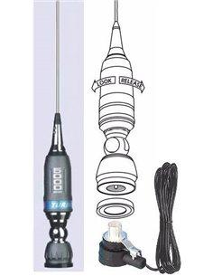 Sirio TURBO 5000 antenna veicolare fornita con 4m cavo RG58