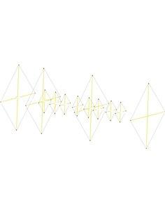 Status QUAD: 4/8 StQ 50/144, cubica  4 elementi 50 Mhz e 8 elmenti 144 Mhz