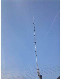 hy-gain AV-620 HF VERTICAL, 6 BANDS 20/17/15/12/10/6 M