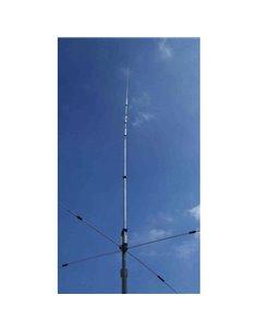 Prosistel PST-152VC Antenna verticale multibanda trappolata con radiali rigidi caricati.