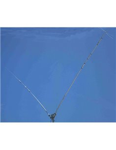 Prosistel PST-1524TV Dipolo multibanda trappolato 10-15-20-40m, in configurazione a V, omnidirezionale
