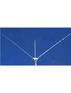 Prosistel PST-27TV Dipolo bibanda trappolato 12m e 17m, in configurazione a V, omnidirezionale