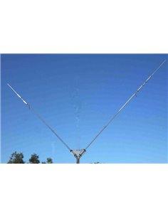 Prosistel PST-274TV Dipolo multibanda trappolato 12m-17m e 40m, in configurazione a V, omnidirezionale