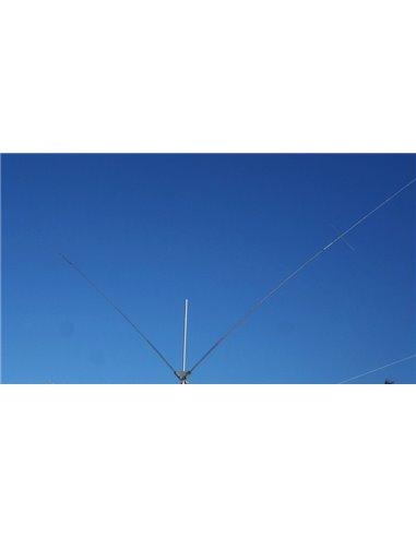 Prosistel PST-24TV Dipolo bibanda trappolato 20m e 40m, in configurazione a V, omnidirezionale
