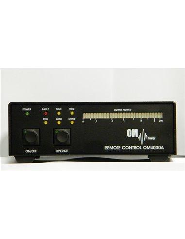 OM Power OM4000A Remote control