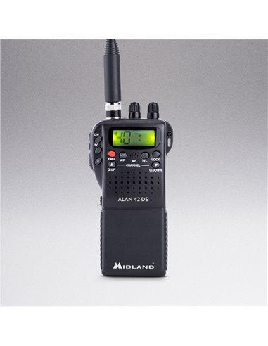 ALAN 42 DS - Ricetrasmettitore CB Portatile Multibanda