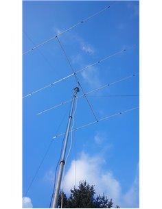 SIRIO SY4 Direttiva 4 elementi Yagi 26.5-30 Mhz