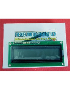 Frequenzimetro Digitale Programmabile LCD 0.1 - 60 MHz