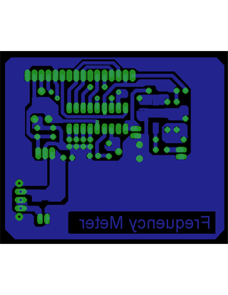 Frequenzimetro Digitale Programmabile LCD 0.1 - 60 MHz