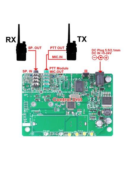 SC-AD-Y1 Cavetto Adattatore Connettore Yaesu 1 Pin per schede di controllo Surecom SR-628 e SR-112