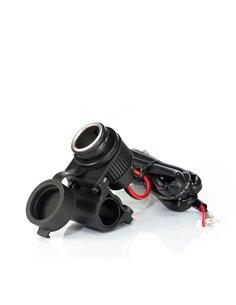 MP-H-Socket - Kit di alimentazione da manubrio con presa accendisigari