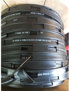 Piattina Bifilare 450 ohm con conduttore unico in acciao ramato