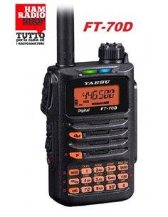 Yaesu FT-70DE C4FM FDMA WIRES-X / FM 144/430 MHz 5W Ricetrasmettitore portatile