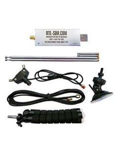 RTL-SDR Blog R820T2 RTL2832U 1PPM TCXO SMA SDR con Dipole Antenna Kit