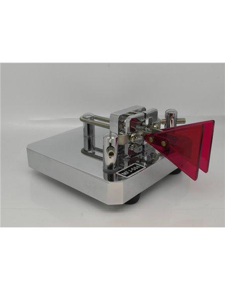 MFJ-564 Crome Iambic dual paddle Tasto telegrafico