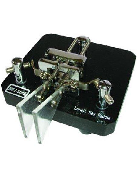 MFJ-564B Black, Iambic dual paddle -Tasto telegrafico
