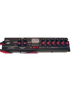 MFJ-1118 distribuzione di alimentazione 12 V alto amperaggio con voltmetro