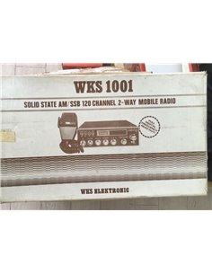 CB WKS 1001 - 120 ch con frequenzimetro - nuovo da OLD STOCK imballo e manuali