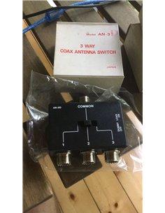 AN-3D commutatore di antenna per CB 3 vie con carico fittizio