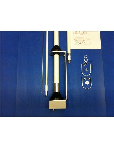 SIGMA HF-360 - Verticale in fibra di vetro 80-6 metri