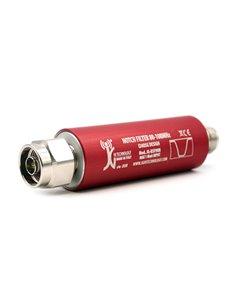 JG-BPF3T120 Filtro passa banda Helical centrato sui 120 MHz
