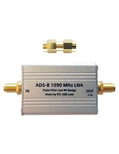 ADS-B 1090 LNA - preamplificatore da 27 db e filtro per ADS-B 1090 MHz