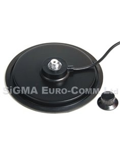 ECO ANTENNE BASE MAGNETICA 180 mm TURBO MAG MOUNT con PL Femmina SO239 e cavo